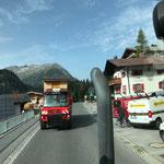 Hüttentransport vom Zuger Dorffest