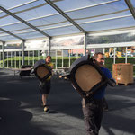 ACCR Rückbau Zelt