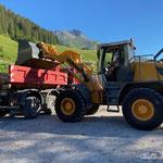 Material laden für Waldbad in Stubenbach