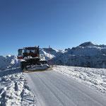 Präparierung Winterwanderweg Kriegeralpe...