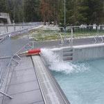 """Becken befüllen für Montage Poolabdeckungen und """"Wintersaison"""" (Becken müssen befüllt überwintern)"""