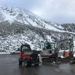 Winterwanderweg-Sanierung Lech-Zürs, Material laden...