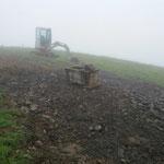 Brunnenplatzbau am Karbühel