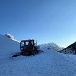 Präparierung Winterwanderweg neu Aufgang Anger...