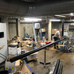Arbeiten im Technikraum