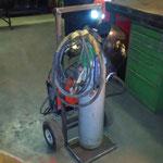 Mobiler Wagen neu für WIG-Schweißgerät