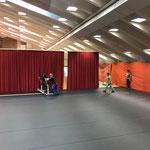Umbau Sportpark Lech für Musikantentag