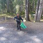 Müllzwicken für die Ortsverschönerung
