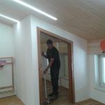 Abschlussreinigungsabeiten, Umbau Dachboden Haus des Kindes
