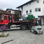 Wetterbedingter Standortwechsel Veranstaltung Fantastic Gondolas: Hilfe beim Getränketransport Rüfibahn - Bergbahn Oberlech