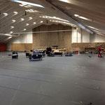 Aufräumarbeiten -Arlberg - Weinberg - Sportpark