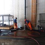 Versinterungen Tagwasserrohre Bauhof entfernen, mit Fachfirma Hartmann