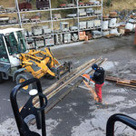 Bauhofdach aufräumen