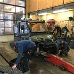 Polaris-Quad Raupenfahrwerk montieren
