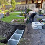 Urnengräber anlegen Friedhof