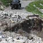 Schäden begutachten Stierloch - Weg