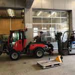 Holder C70 SC für Forsteinsatz vorbereiten, Montage der Winde