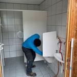 WC's Spullersee und Formarinsee reinigen, Mülldienst Zugertal