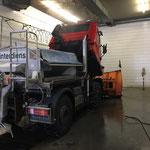 Fahrzeugpflege am U400