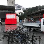 Radständer verladen