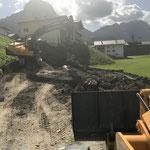 Winterwanderweg Anger, Baufortschritt
