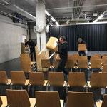 Rückbau Postgarage nach Heimatabend-Veranstaltung LZTG