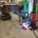 Forst-Werkzeugkistenaufsatz für Steyr 6190 CVT und U1600 konstruieren und fertigstellen
