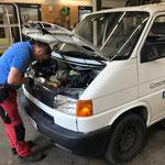 """Startprobleme überprüfen beim VW-Pritsche """"alt"""""""