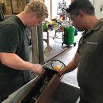 Grüner Rätselring, Luftpumpenstation reparieren am Bauhof