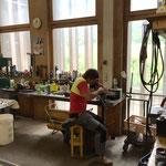 Kettenschleifen Motorsäge für Grillholz-Vorbereitung