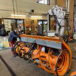 Service- und Reparaturarbeiten Zaugg-Fräse für Lader 509
