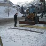Warteplatz Postamt für Winter optimieren (Durchgängigkeit Holder)