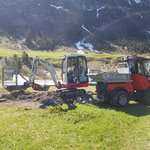 Rückbau Wasserversorgung Sprenkleranlage Fußballplatz