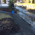 Gemeindeamt-Gartenweg schottern