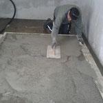 Bodenplatte betonieren Schwimmbad