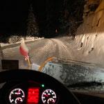 Schneeräumung nach Zug, mit Lindner Unitrac