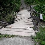 Schneeschaden: Brücke Gitzibach