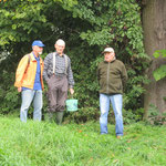 Wegbegleiter Hans-Lorenz, Bruno und Hennes