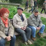 Senior Eugen Schenkel, Eva und Hennes