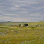 Grasslands NP, East-Block, Rock-Creek-CG, Gesamtüberblick