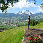 Aussicht auf Schwyz und Mythen