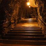 Trümmelbachfälle unterirdischer Zugang