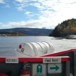 Überfahrt nach Dawson City