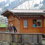 Campinghüttli von Manu, Toni, Isa & Carlo
