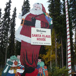 North Pole bei Santa