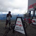 Piz Nair auf 3057 Meter über Meer