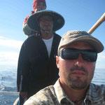 Alex mit dem Fischer
