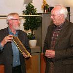 Albert Arends wird zum Ehrenmitglied ernannt
