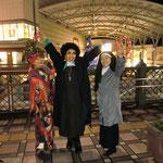 12/23長崎駅前高架広場