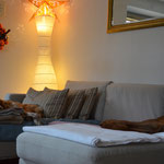 Sofa abhängen